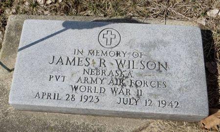 WILSON, JAMES R. - Dubuque County, Iowa | JAMES R. WILSON