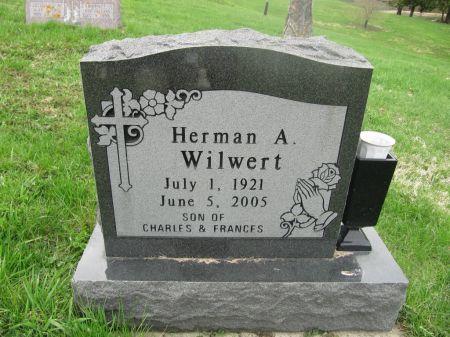 WILWERT, HERMAN A. - Dubuque County, Iowa | HERMAN A. WILWERT