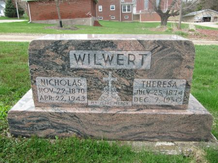 WILWERT, NICHOLAS - Dubuque County, Iowa | NICHOLAS WILWERT