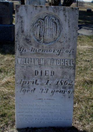 WINCHELL, WILLIAM M. - Dubuque County, Iowa | WILLIAM M. WINCHELL