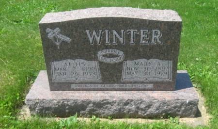 WINTER, MARY A. - Dubuque County, Iowa | MARY A. WINTER
