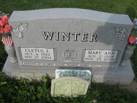 WINTER, MARY ANN - Dubuque County, Iowa | MARY ANN WINTER