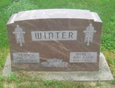 WINTER, IRENE C. - Dubuque County, Iowa | IRENE C. WINTER