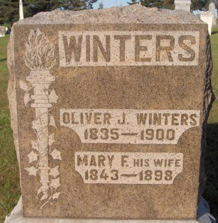 WINTERS, MARY F. - Dubuque County, Iowa | MARY F. WINTERS