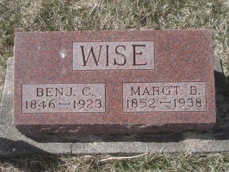 WISE, BENJ. C. - Dubuque County, Iowa | BENJ. C. WISE