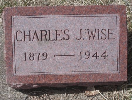 WISE, CHARLES J. - Dubuque County, Iowa | CHARLES J. WISE