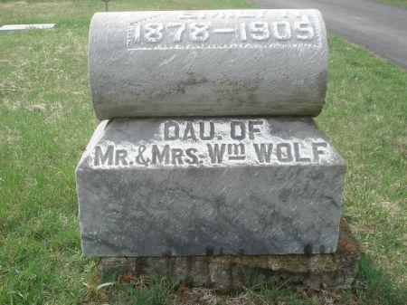 WOLF, EMILY N. - Dubuque County, Iowa | EMILY N. WOLF