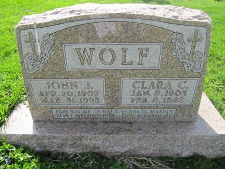 WOLF, JOHN J. - Dubuque County, Iowa | JOHN J. WOLF