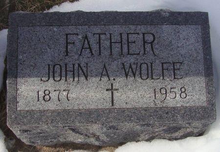 WOLFE, JOHN A. - Dubuque County, Iowa   JOHN A. WOLFE