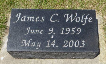 WOLFE, JAMES C. - Dubuque County, Iowa   JAMES C. WOLFE