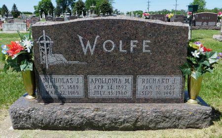 WOLFE, APOLLONIA M. - Dubuque County, Iowa | APOLLONIA M. WOLFE