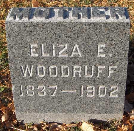WOODRUFF, ELIZA E. - Dubuque County, Iowa | ELIZA E. WOODRUFF