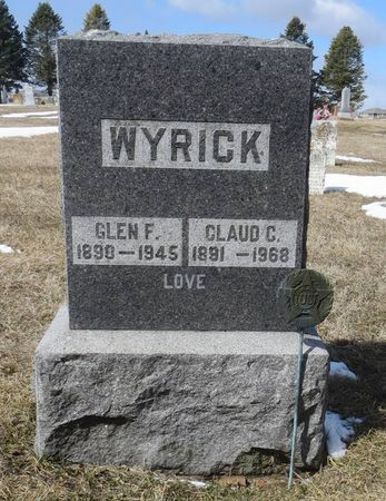 WYRICK, CLAUDE C. - Dubuque County, Iowa | CLAUDE C. WYRICK