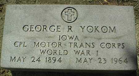 YOKOM, GEORGE R. - Dubuque County, Iowa | GEORGE R. YOKOM