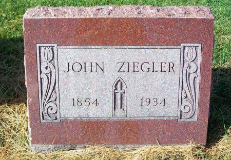 ZIEGLER, JOHN - Dubuque County, Iowa   JOHN ZIEGLER