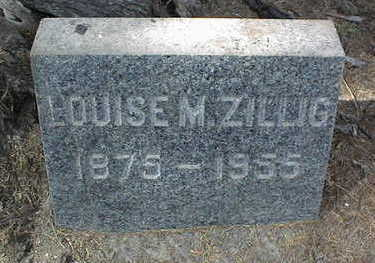 ZILLIG, LOUISE M. - Dubuque County, Iowa | LOUISE M. ZILLIG