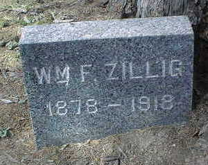 ZILLIG, WM. F. - Dubuque County, Iowa | WM. F. ZILLIG
