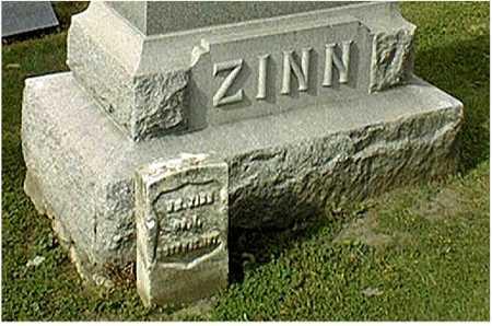 ZINN, WILLIAM - Dubuque County, Iowa | WILLIAM ZINN