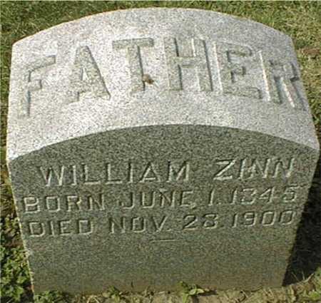 ZINN, WILLIAM - Dubuque County, Iowa   WILLIAM ZINN
