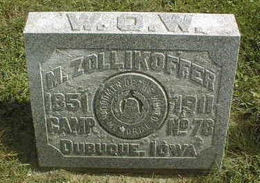 ZOLLIKOFFER, M. - Dubuque County, Iowa | M. ZOLLIKOFFER