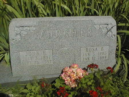 ZURCHER, JOHN H. - Dubuque County, Iowa | JOHN H. ZURCHER