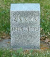 AANONSON, AANON - Emmet County, Iowa   AANON AANONSON