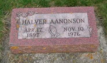 AANONSON, HALVER - Emmet County, Iowa | HALVER AANONSON