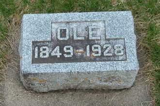 AANONSON, OLE - Emmet County, Iowa | OLE AANONSON