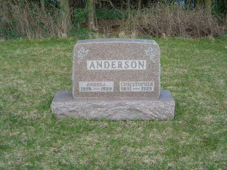 ANDERSON, ANDREA - Emmet County, Iowa   ANDREA ANDERSON