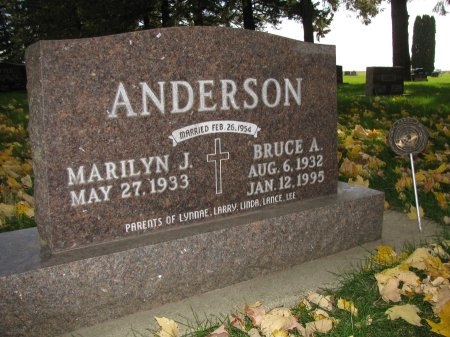ANDERSON, BRUCE A. - Emmet County, Iowa | BRUCE A. ANDERSON