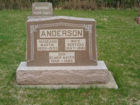 ANDERSON, ELMER HAYES - Emmet County, Iowa | ELMER HAYES ANDERSON
