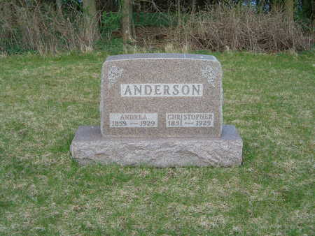 ANDERSON, CHRISTOPHER - Emmet County, Iowa | CHRISTOPHER ANDERSON
