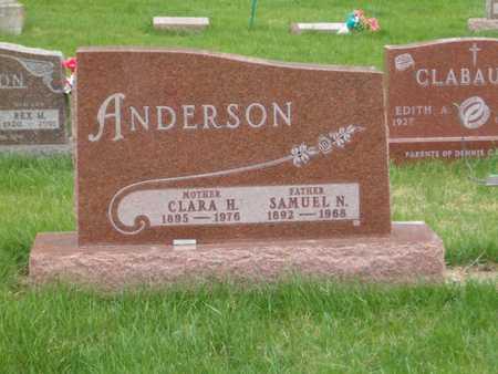 ANDERSON, CLARA H. - Emmet County, Iowa | CLARA H. ANDERSON
