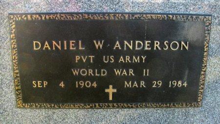 ANDERSON, DANIEL W. - Emmet County, Iowa | DANIEL W. ANDERSON