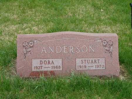 ANDERSON, DORA - Emmet County, Iowa | DORA ANDERSON
