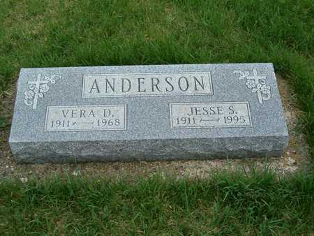 ANDERSON, VERA D. - Emmet County, Iowa | VERA D. ANDERSON