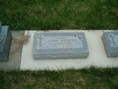 ANDERSON, LENORE - Emmet County, Iowa   LENORE ANDERSON