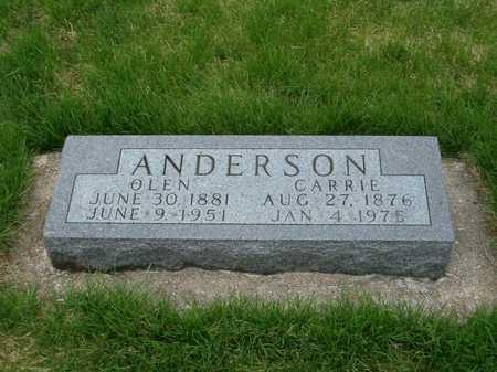 ANDERSON, OLEN - Emmet County, Iowa | OLEN ANDERSON