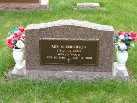 ANDERSON, REX M. - Emmet County, Iowa   REX M. ANDERSON