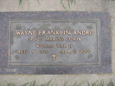 ANDRE, WAYNE FRANKLIN - Emmet County, Iowa | WAYNE FRANKLIN ANDRE