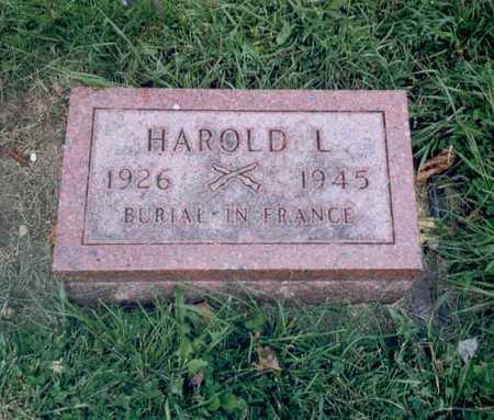 ANDREWS, HAROLD L. - Emmet County, Iowa   HAROLD L. ANDREWS