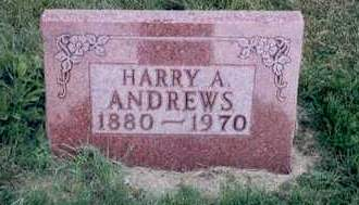ANDREWS, HARRY A. - Emmet County, Iowa | HARRY A. ANDREWS