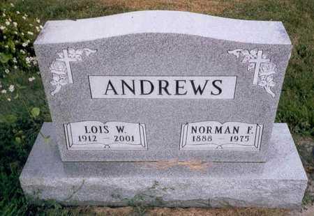 ANDREWS, LOIS W. - Emmet County, Iowa | LOIS W. ANDREWS