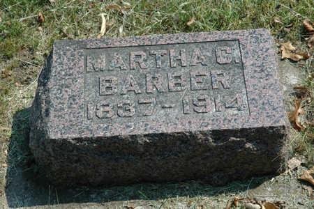 BARBER, MARTHA C. - Emmet County, Iowa   MARTHA C. BARBER