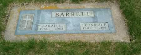 BARRETT, SARAH L. - Emmet County, Iowa | SARAH L. BARRETT