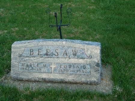 BEESAW, EDWIN D. - Emmet County, Iowa | EDWIN D. BEESAW