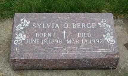 BERGE, SYLVIA O. - Emmet County, Iowa   SYLVIA O. BERGE