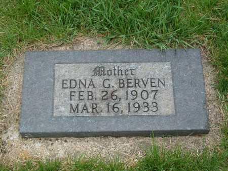 BERVEN, EDNA G. - Emmet County, Iowa | EDNA G. BERVEN