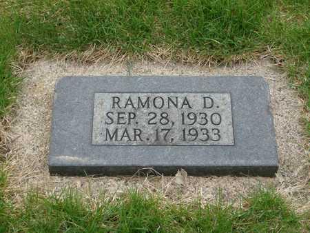 BERVEN, RAMONA D. - Emmet County, Iowa   RAMONA D. BERVEN