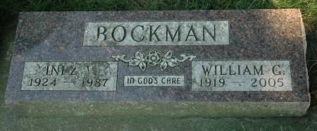 BOCKMAN, WILLIAM G. - Emmet County, Iowa | WILLIAM G. BOCKMAN